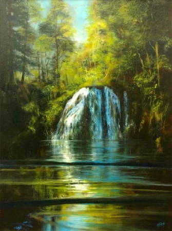 """Cherry Creek Falls""