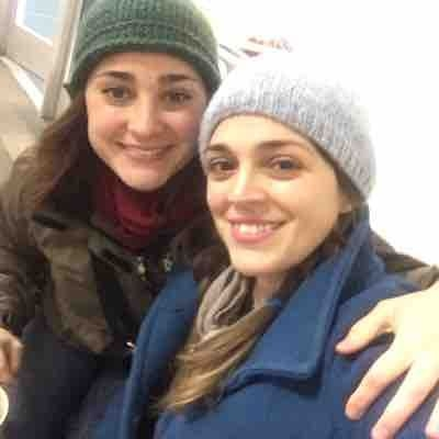 Ice skating with my sister in law ❤️