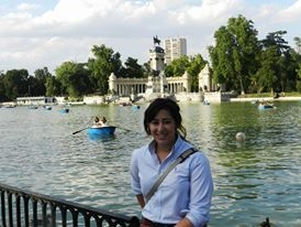 """El Retiro"" park in Madrid"
