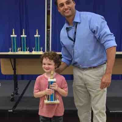 A very proud moment, when one of my students won his first chess trophy. Way to go pal!!!