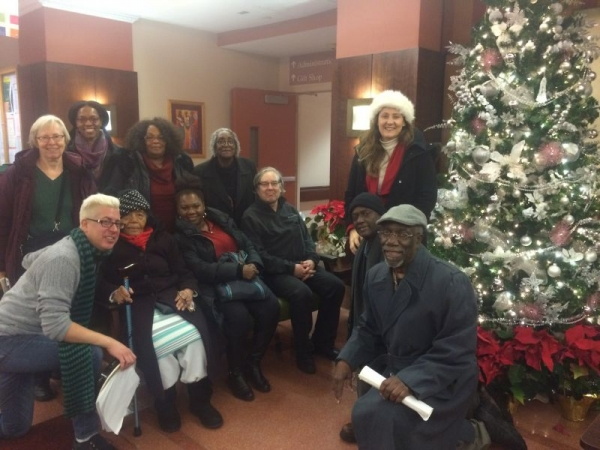 Grace Music Students and I Christmas Caroling for the elderly this year :)