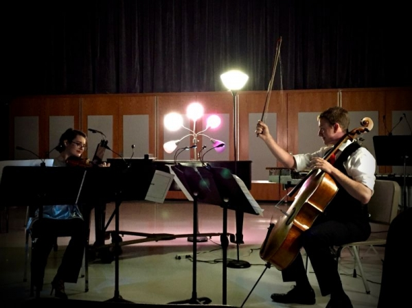 A 2016 violin-cello duet from Converge: New Music Collective's kickoff performance.