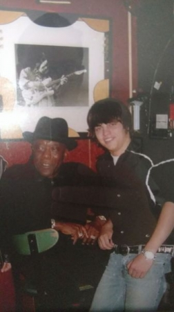Me with Buddy Guy After a jam in Chicago