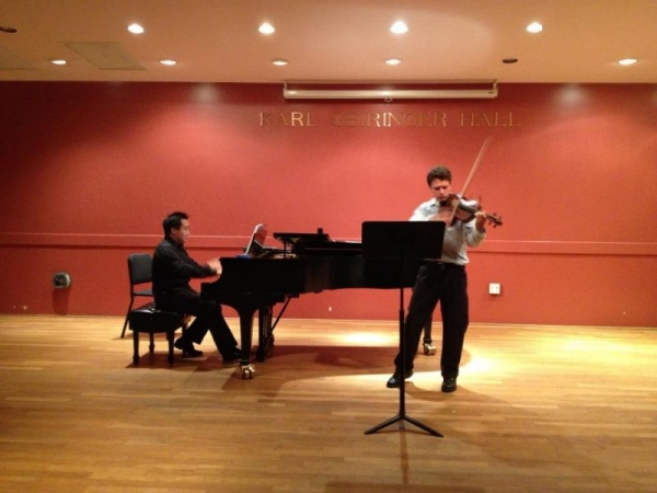 Santa Barbara, California: Sophomore Recital