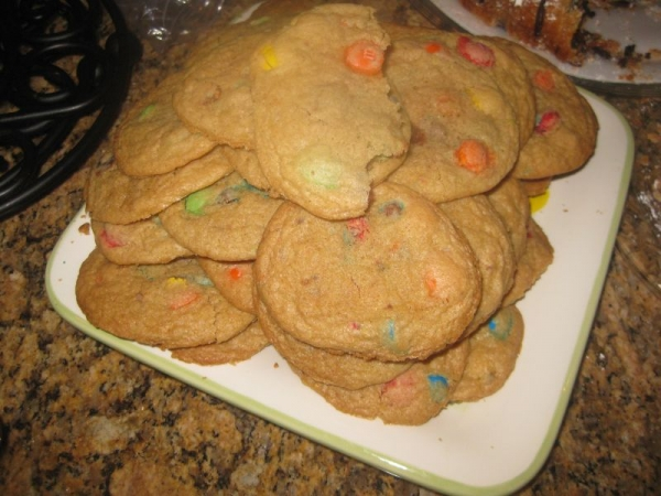 Cookies with M & M's