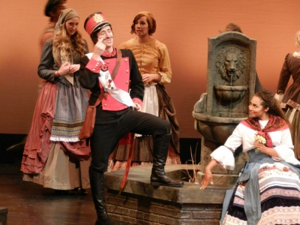 "That one time I played Belcore in Donizetti's ""L'Elisir d'Amore"" back in my baritone days."