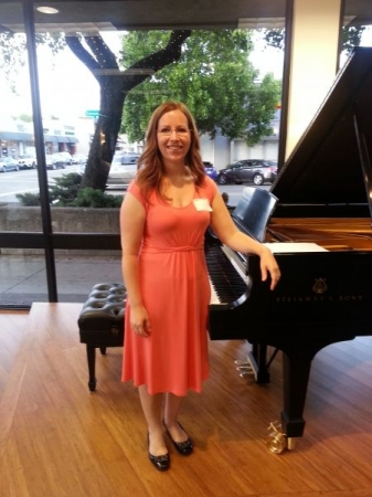 Performance at the Steinway Gallery in Walnut Creek, CA! What a fun night!