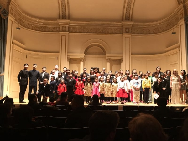 My 6 years old student Stephanie Zhao has won the Third Place at the New York International Youth Arts Festival. Carnegie Hall