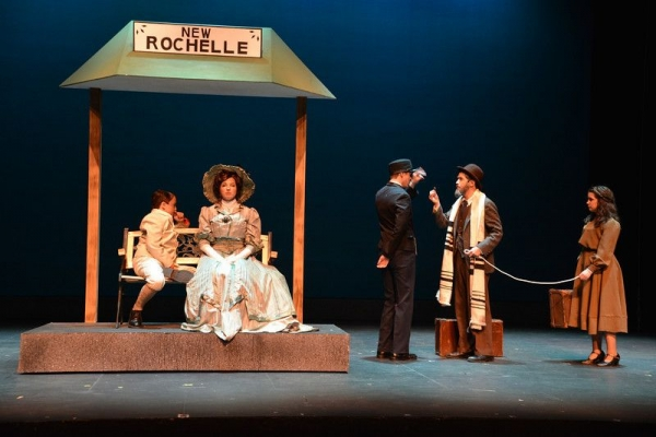 Playing Tateh in Ragtime at Mcleod Theater