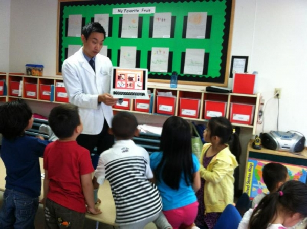 Teaching elementary students about health