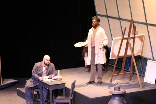 "Singing Marcello in Puccini's ""La boheme"" with Mason Opera"