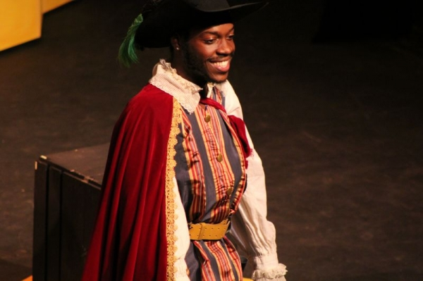 "Singing the Pirate King in Mason Opera production of Gilbert and Sullivan's ""Pirates of Penzance"""