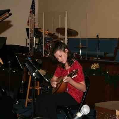 Student Mandolin performance