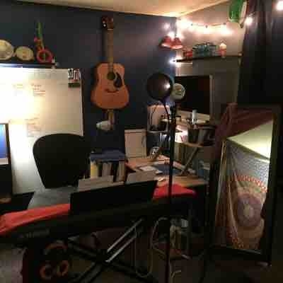 Welcome to my teaching/songwriting studio!