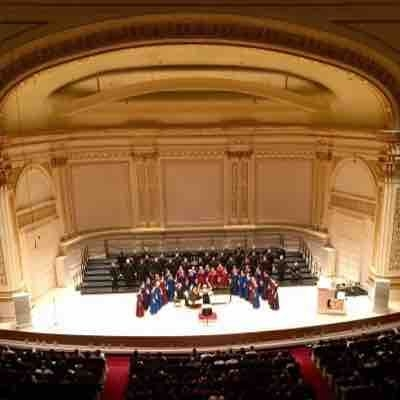 Singing on Carnegie Hall stage with the Capital University Chapel Choir- February 2016