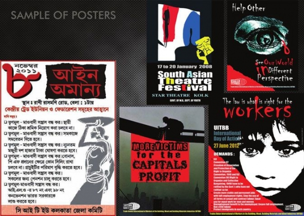 Work samples of Posters