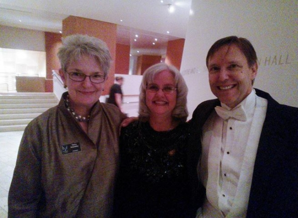 Marti, Grant Gershon (right), & Terry Knowles (left) at the LAMC's 50th Anniversary Celebration in 2013.
