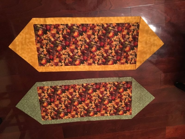 60 minute table runners