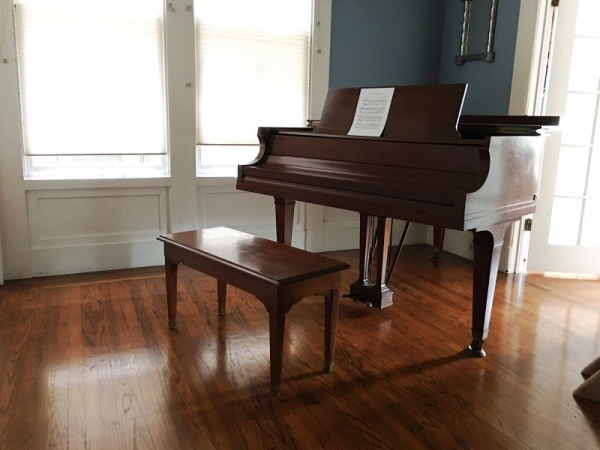 My baby grand at home