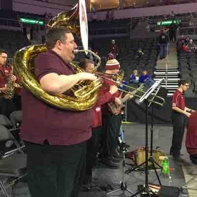 2017 Sousaphone - Denver University Pep band.