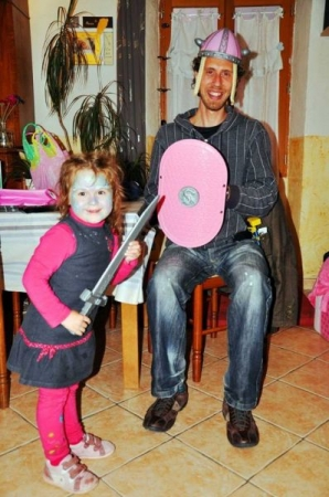 Playdate with my friend Anais