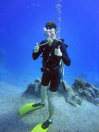 Diving in the Red Sea, Egypt, 2011.