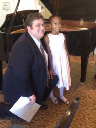 Maestro Fred with student