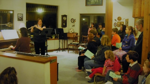 Flute and Piano Recital, Deerland Studio