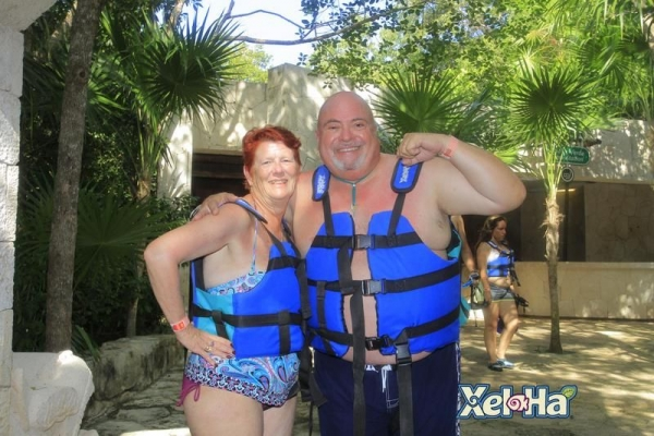 My husband and I in Cancun this last December.