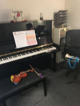 My violin studio in Chino Hills