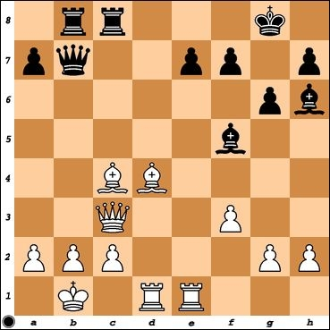 NM Chris Williams played Rhe1 against me to prevent Be6 tactically. How else can Black take advantage of the pinned White Bishop on c4?