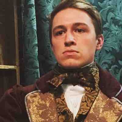 Could not be more proud of Alex Wood, photographed here as Mr. George Wickham in Pride and Prejudice at Theatreworks