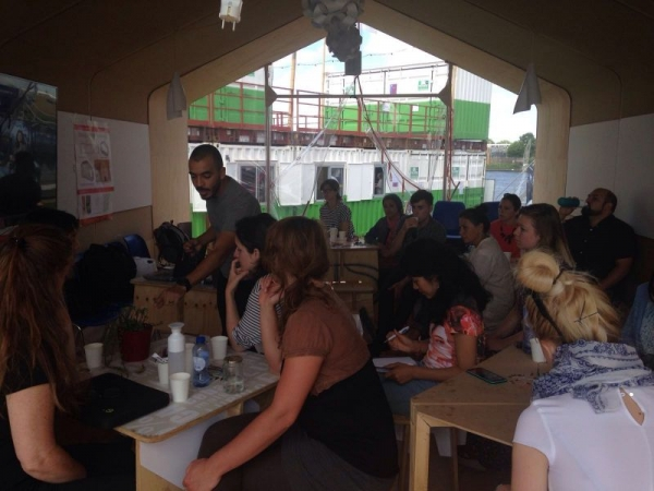 My IoT Workshop at FabCity in Amesterdam.
