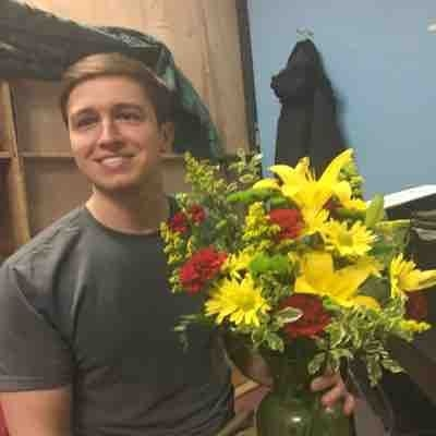Flowers for opening night
