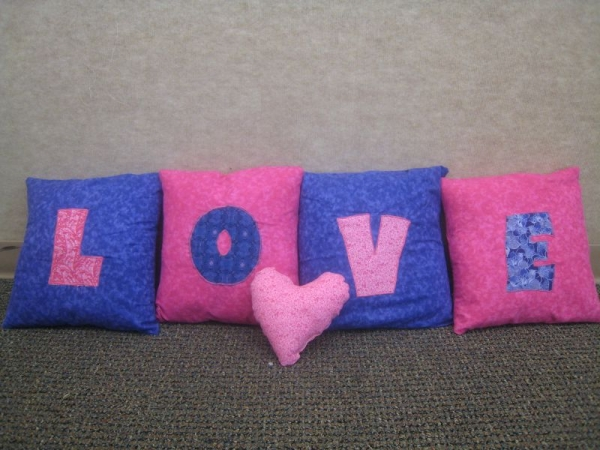 Pillows LOVE -student project