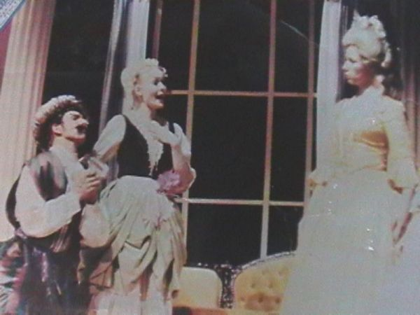 Ruth playing Despina in Mozart's opera, Cosi fan Tutte
