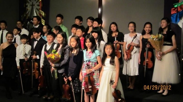 Studio Recital, May 2012