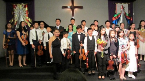 Studio Recital,May 2012