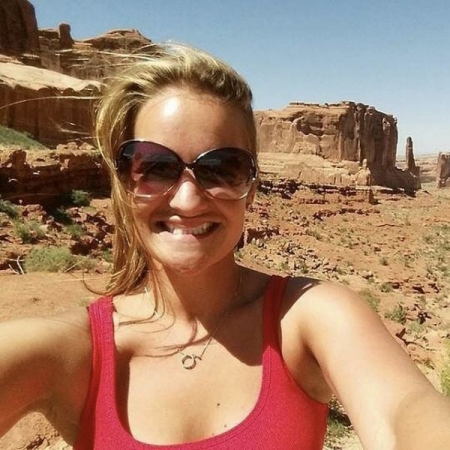 I love to be outside and explore our beautiful planet, this is Arches National Park in Moab, UT