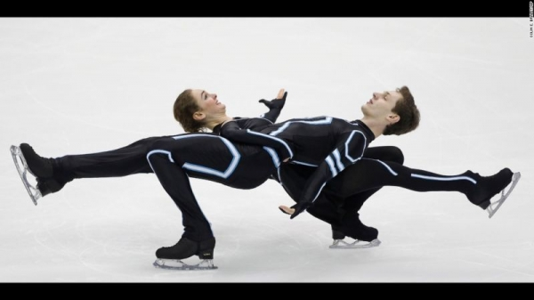 2017 US National Championships Free Dance, skated to TRON Legacy.