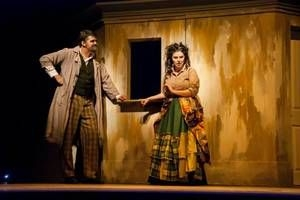 Rachelle as Mrs. Lovett in Sweeney Todd.
