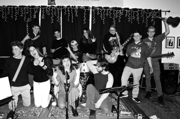 Culmination concert for Double Bar Music students at Sandywoods Center for the Arts in Tiverton, RI - 2017