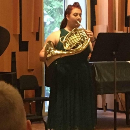 Picture from my master's recital on 5/6/17