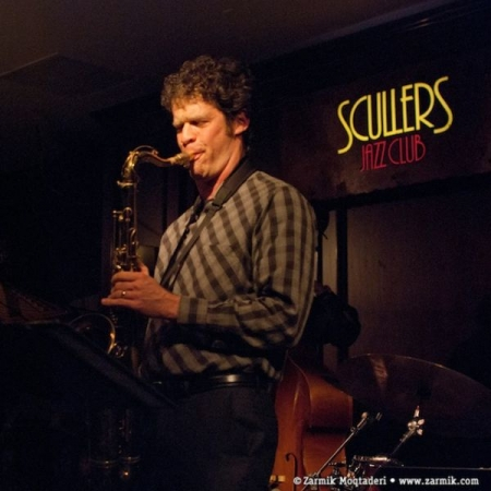 At Scullers Jazz Club, Boston.