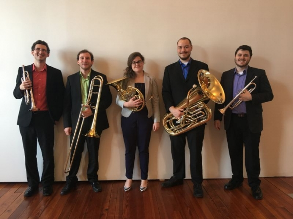 With my Brass Quintet, 5KBrass.