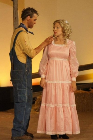 Performing as Laurey Williams in Oklahoma!