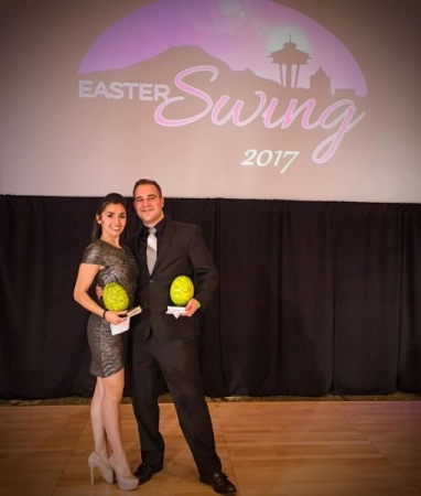 After our first place win at Seattle Easter Swing