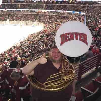 2017 NCAA Hockey Finals - Championship Game with Denver University's Pep Band.  We won the National title!  What a ride!