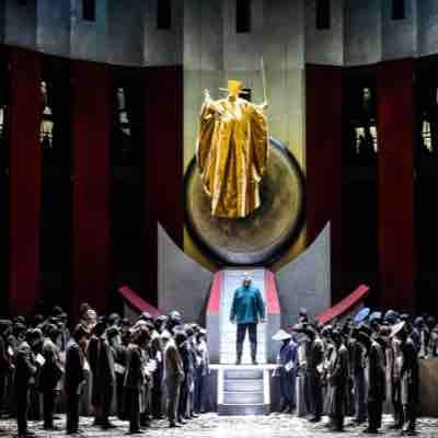 "Jeffrey Hartman in Die Theater Chemnitz's production of ""Turandot"" as Calaf"