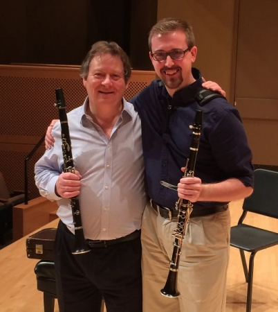 Masterclass with THE Andrew Marriner, principal clarinetist of the London Symphony Orchestra! - March 2017